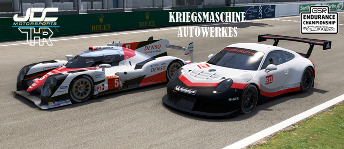 GSREC: THR and Kriegsmaschine Take Le Mans Victories!